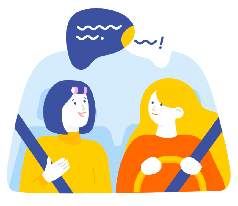Safe, Reliable carpool service for women